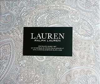 ralph lauren light blue paisley bedding