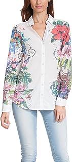 Desigual Women's Woven Shirt Long Sleeve