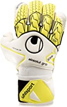 uhlsport ABSOLUTGRIP BIONIK Frame Finger & Thumb Protection + Goalkeeper Gloves for Soccer