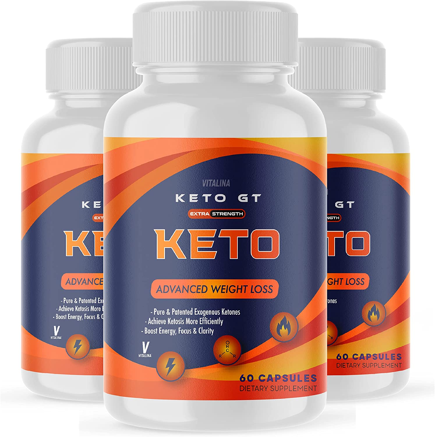 55% OFF Popularity 3 Pack Official Keto GT Max and Strength for Mon Women Men