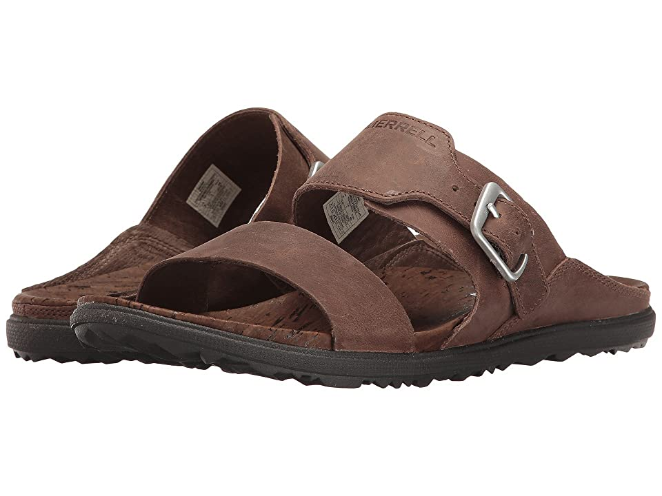 Merrell Around Town Buckle Slide (Brown) Women
