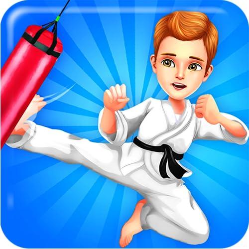 Kung Fu Junge gegen Mobbing - Lerne Kampfkünste und kämpfe gegen Schläger und alle Leute, die andere an deiner Schule einschüchtern