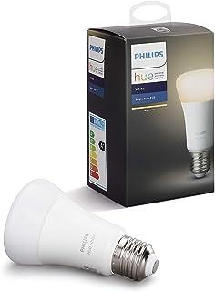 Philips Hue (ヒュー) ホワイト シングルランプ スマート LEDライト【Amazon Echo、Google Home、Apple HomeKit、LINE対応】