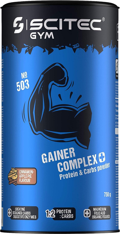 Scitec Gym Gainer Complex+ Protein & Carbs powder, canela y ...