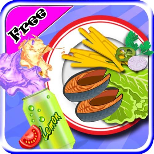 Braten Fisch-Chips Maker - Kochen Spiele für Mädchen Kinder