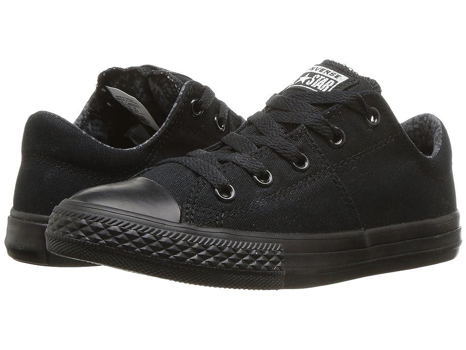 Converse Kids Chuck Taylor(r) All Star(r) Madison Ox (Little Kid/Big Kid) (Black/Mason/Black) Girls Shoes
