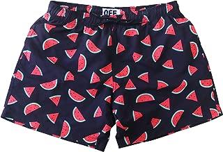 Mens Short Swim Trunks Boys Quick Dry Beach Broad Shorts Swim Suit with Mesh Lining