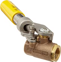 deadman ball valve with spring return handle