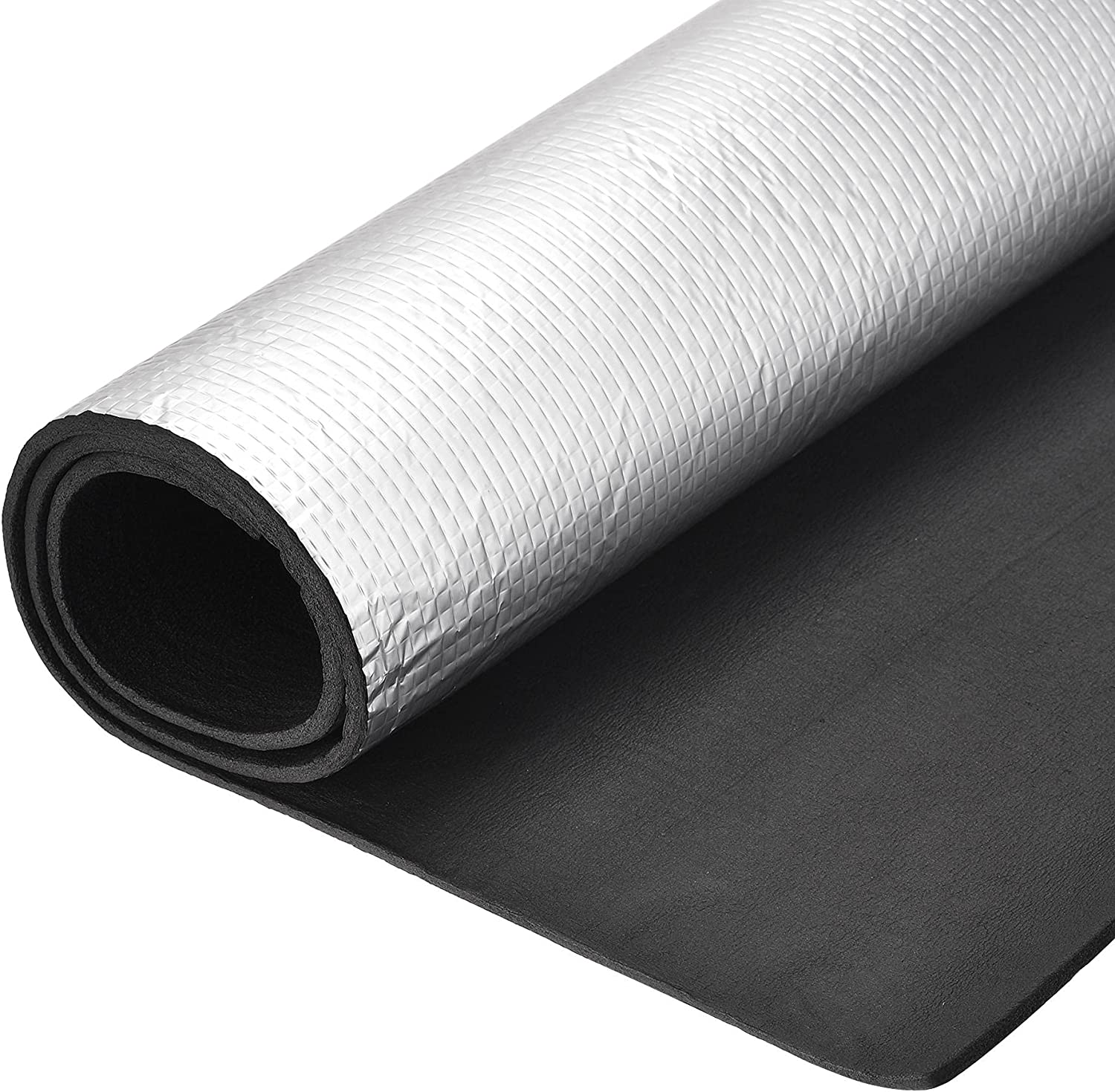 uxcell Insulation Max 58% OFF Sheet 1mx0.5mx5mm Foil Aluminum Embossed Wate Max 43% OFF