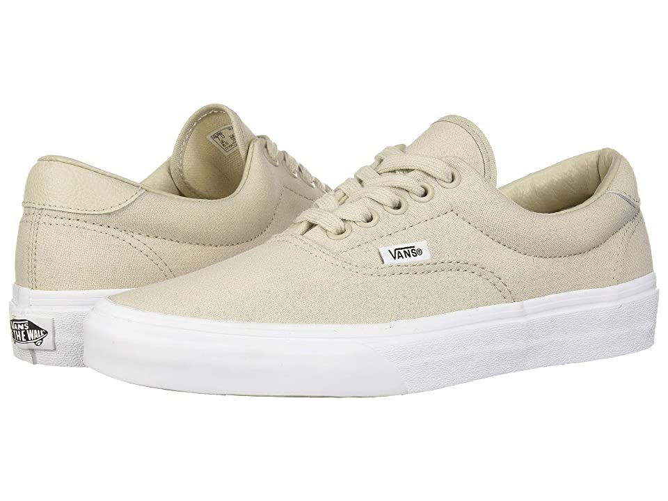 Vans Era 59 ((Suiting) Silver Lining/True White) Skate Shoes