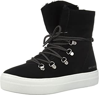 Skechers Womens 73885 Alba - High Hugs. Tall Suede Lace Up Sneakerboot.