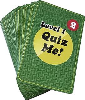 クイズ ミー! 英会話カードゲーム レベル1 パック2 【英語 教材 ゲーム】 Quiz Me! Conversation Cards for Adults Level 1 Pack 2