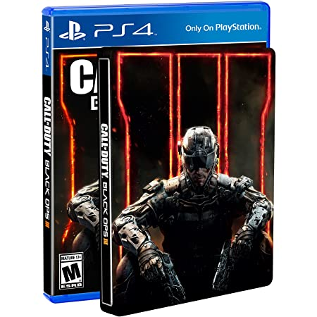 Call Of Duty Black Ops Iii Steelbook Edition Playstation 4 Amazon Exclusive Video Games
