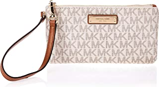 Michael Kors Jet Set Wristlet for Women-Vanilla