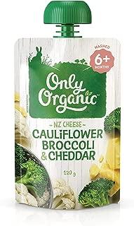 Only Organic Cauliflower Broccoli & Cheddar 6+ Months - 120g