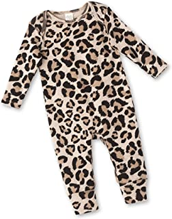 Tesa Babe Romper with Forest & Animals Print for Newborns & Baby Boys & Girls