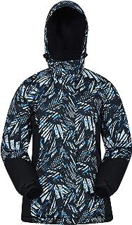 Mountain Warehouse Dawn Womens Ski Jacket - Snowproof, Warm Ladies Jacket, Fleece Lined Ski Coat, Adjustable Cuff, Hem & H...