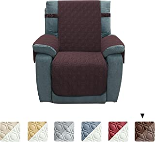 Chenlight Recliner Slipcover Furniture Protector Slip Resistant Waterproof Stain Resistant Machine Washable Sofa Cover for Kids Children Pets Dog Cat(Recliner:Chocolate)