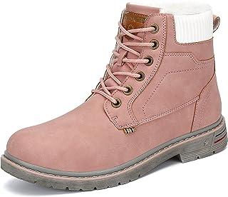 Mishansha Chaussures d'hiver pour Homme et Femme - Chaudes Légère Antiderapante