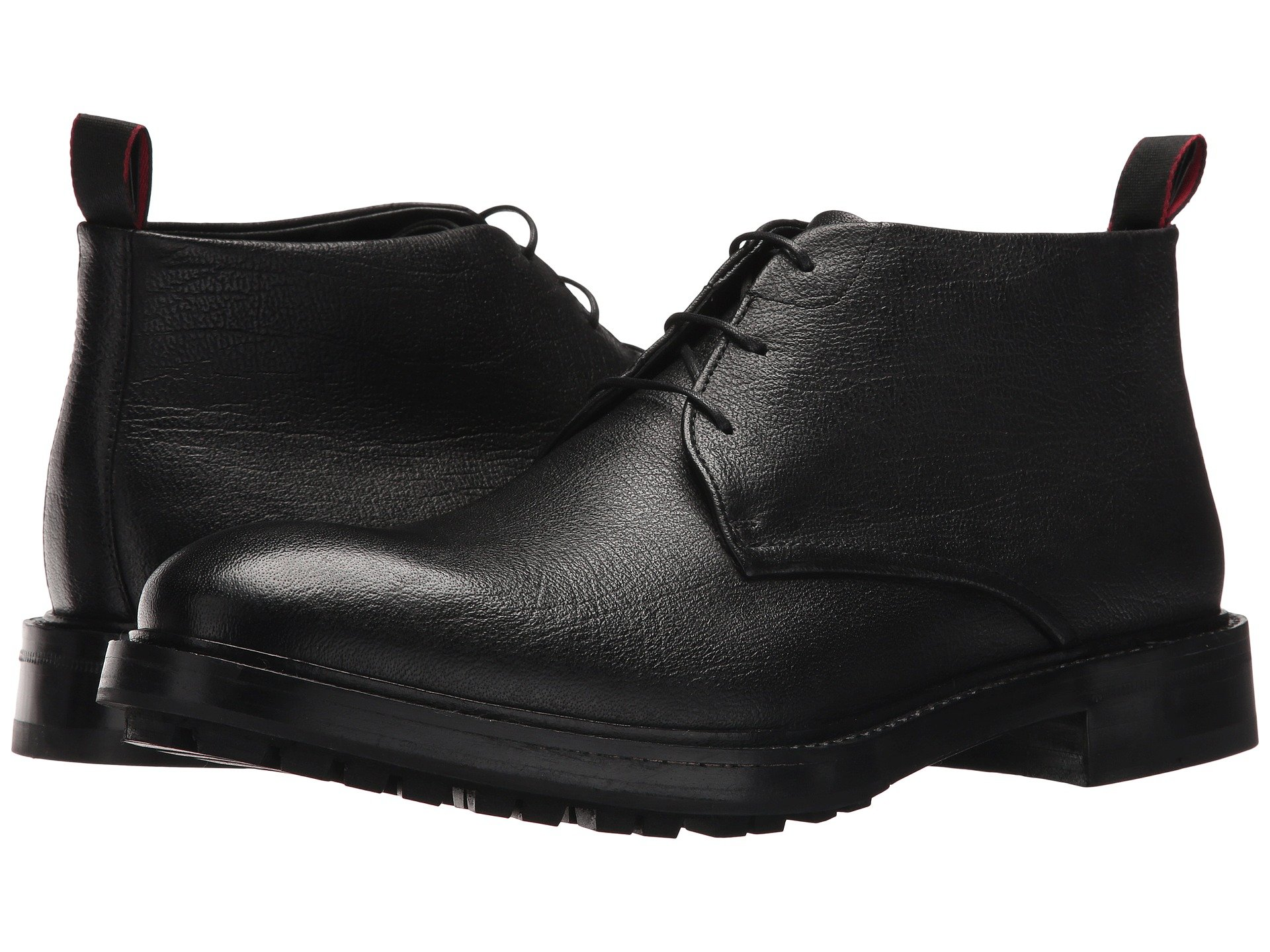 BOSS Hugo Boss Defend Buffalo Leather Desert Boot by HUGO Wa2ULN11