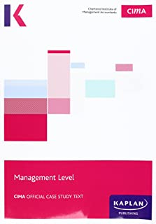 CIMA Managerial Case Study - Study Text