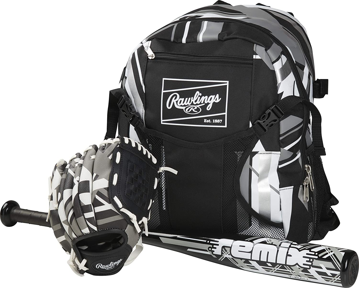 """Rawlings Tball Starter Kit Remix Series Youth Quality inspection 9"""" Glove Ba In a popularity"""