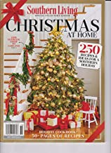 SOUTHERN LIVING MAGAZINE CHRISTMAS AT HOME SPECIAL EDITION DECEMBER 2017