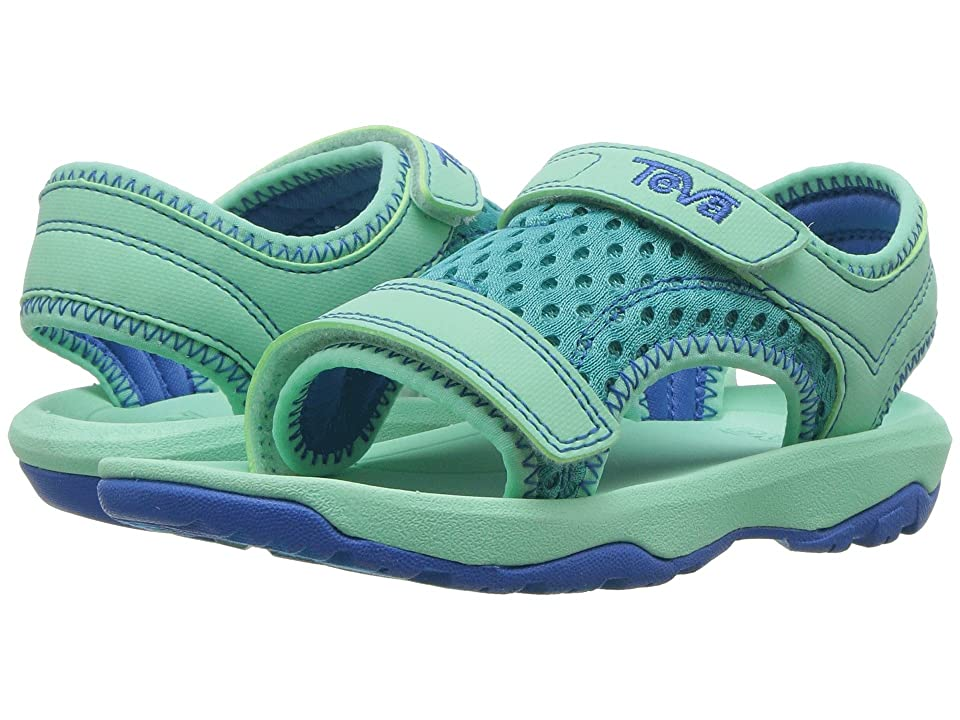 Teva Kids Psyclone XLT (Toddler) (Sea Glass) Girls Shoes