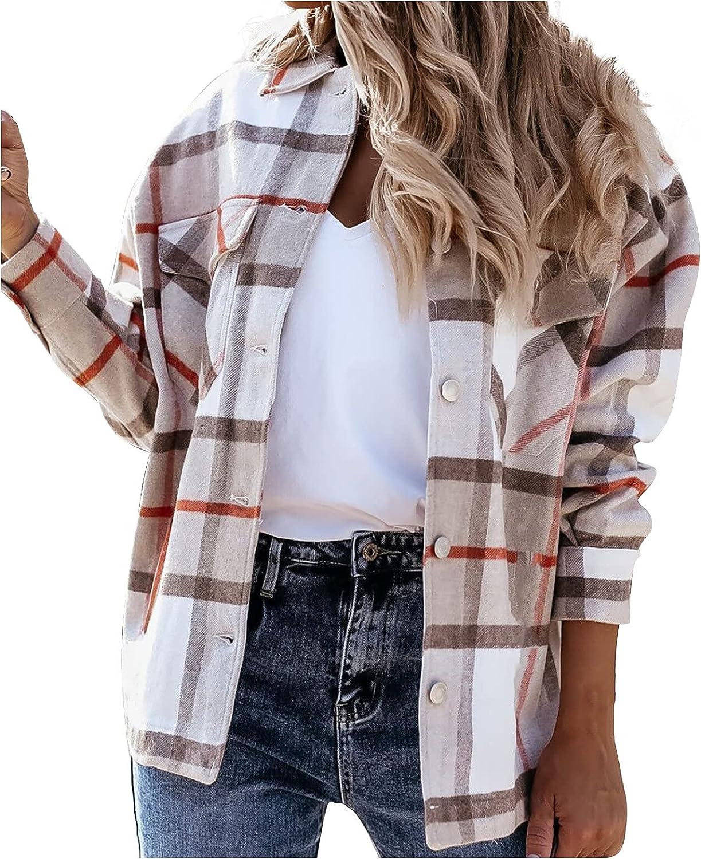 Women's Casual Button Hoodies Tunic Loose Plus Size Lattice Sweatshirt Long Hoodie Jacket Pockets Pullover Tops
