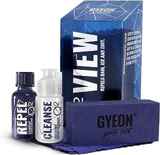 GYEON Quartz Q² View Hydrophobic Windshield and Glass Coating