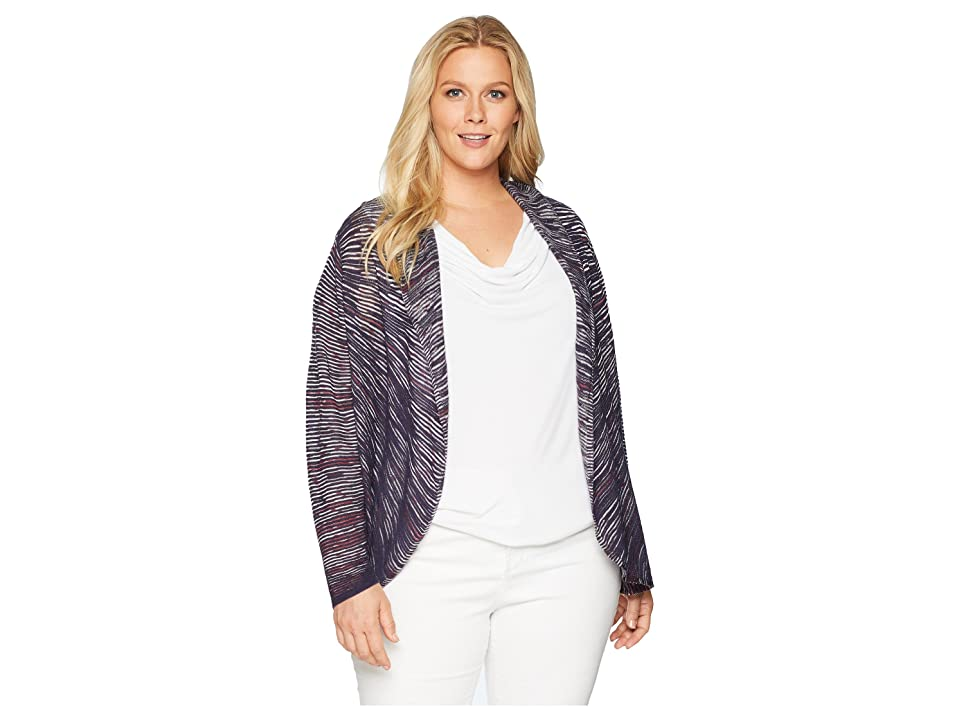 NIC+ZOE Plus Size Star Crossed Cardy (Multi) Women