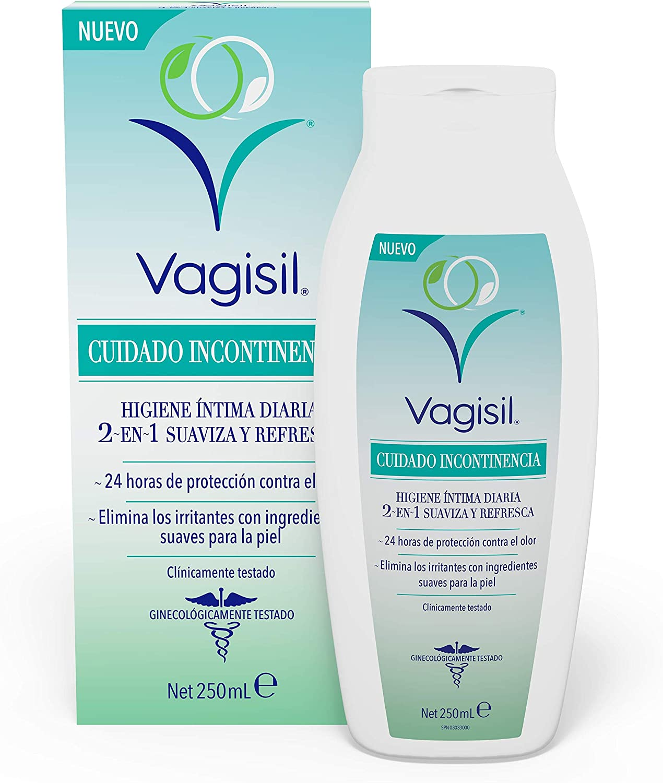 VAGISIL Cuidado Incontinencia Higiene Intima Diaria 2en1 Suaviza y Refresca