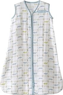 HALO 100% Cotton Muslin Sleepsack Wearable Blanket, Gator Plaid, Small
