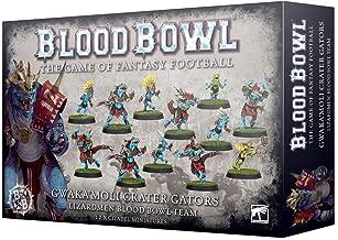 Games Workshop BLOOD BOWL: GWAKA'MOLI Crater Gators