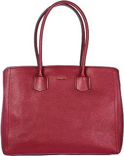 Furla Spring/Summer Ladies Large Dark Red Leather Shoulder Bag 984365