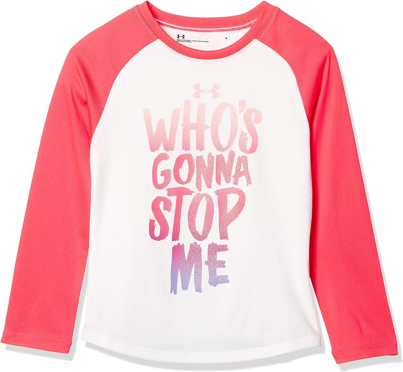Under Armour Girls' Little Logo Long Sleeve T-Shirt