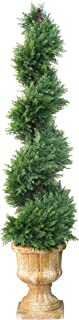 National Tree 54 Inch Artificial Slim Juniper Spiral Tree (LCYSP4-710-54)