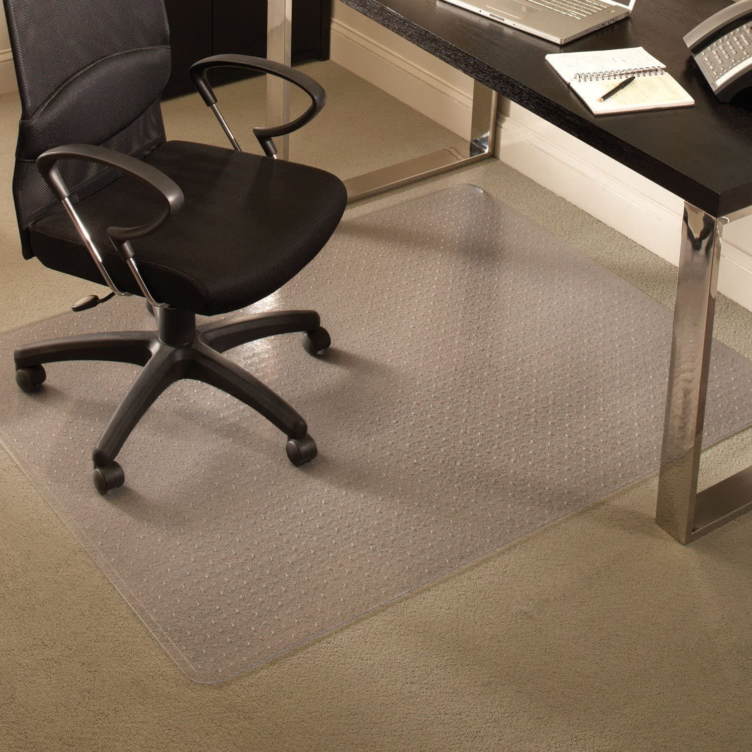 lowest price ES Robbins Everlife Carpet Mat Surprise price Clear Chair 48