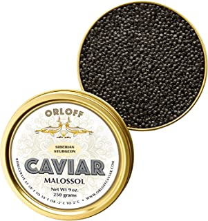 ORLOFF Seberian Osetra Caviar - 1 Ounce – Freshness GUARANTEED Overnight Delivery