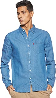 Levi's Men's Solid Regular fit Casual Shirt