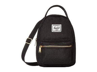 Herschel Supply Co. Nova Crossbody (Black 1) Handbags
