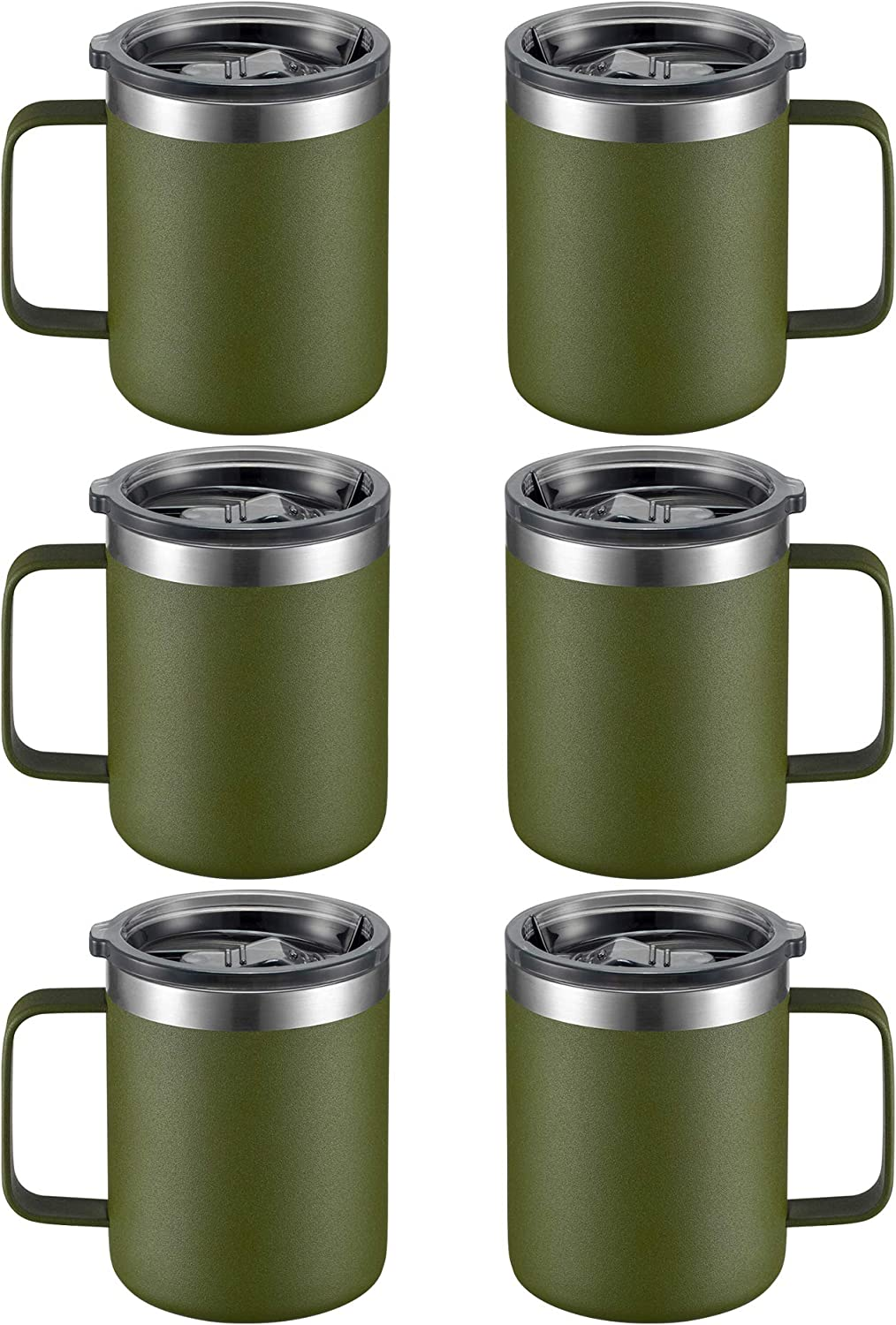 12oz Stainless Steel Limited Special Price Insulated Max 46% OFF Coffee Handle Mug Wa with Double