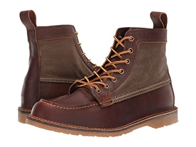 Red Wing Heritage Wacouta Canvas Moc (Copper) Men