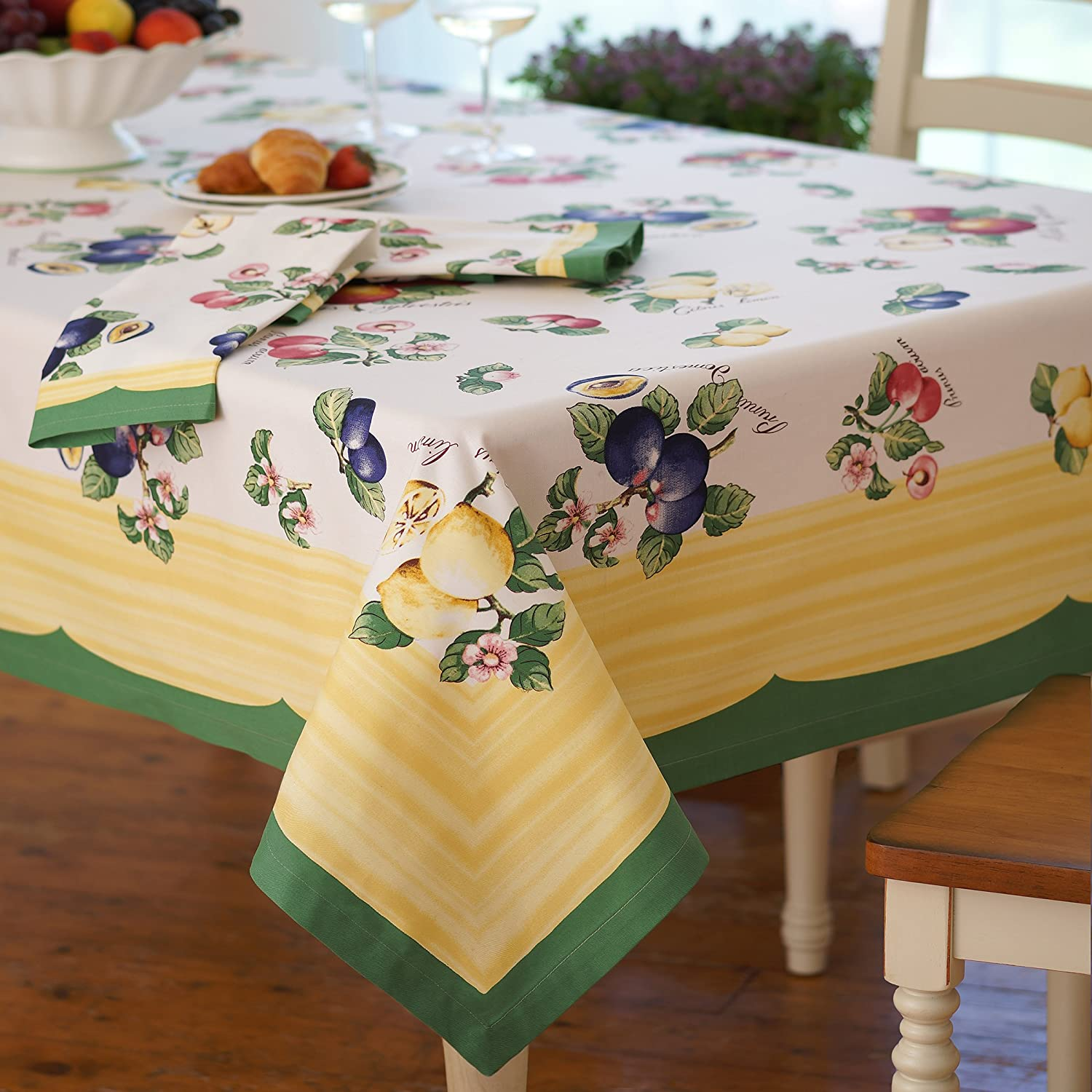 Porthault French Cotton tablecloth or Wall Hanging 67 x 84.5 by Yummy Tie-Dyes
