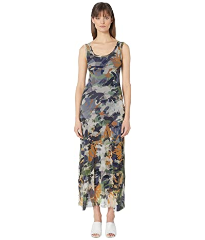 FUZZI Camo Tank Dress (Fern Green) Women
