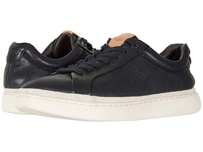 UGG  Cali Sneaker Low (Black Leather) Mens  Shoes