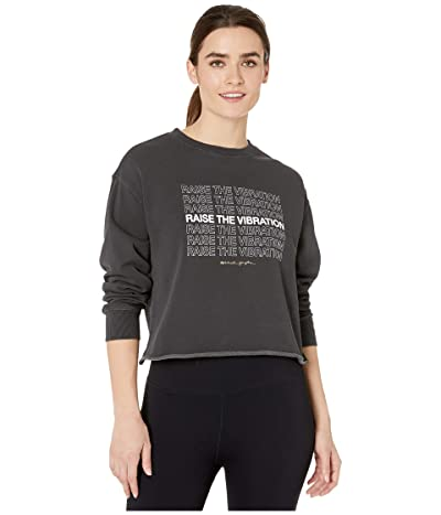 Spiritual Gangster Mazzy Pullover Sweatshirt (Vibration Vintage Black) Women
