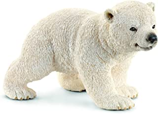 Schleich Walking Polar Bear Cub Toy Figure