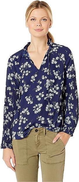 bd50fc0a LAUREN Ralph Lauren. Petite Cotton Voile Shirt. $70.99MSRP: $89.50. Print  Tie Neck Georgette Top