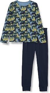 NAME IT Nkmnightset China Blue Ani AOP Noos Juego de Pijama para Niños